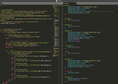 Bootstrap+CSS